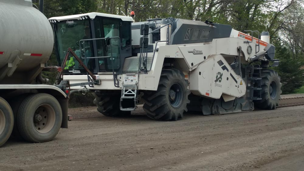 Becker Co MN Reclaimer and Water Truck