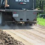 Photo 1 Gravel Road Process